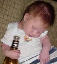 kid drunk